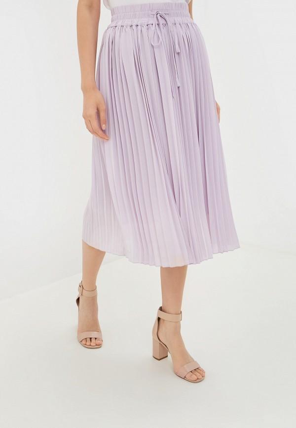 женская юбка incity, фиолетовая