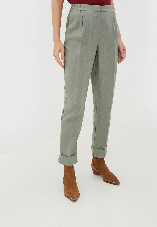 женские брюки incity, хаки