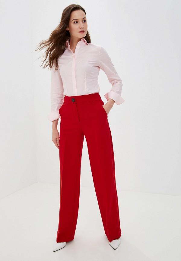 Фото 2 - Женскую блузку Colletto Bianco розового цвета