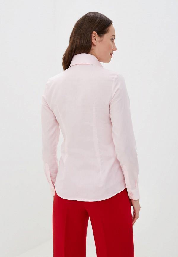 Фото 3 - Женскую блузку Colletto Bianco розового цвета