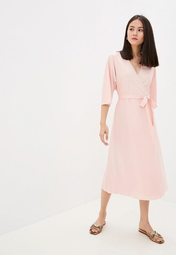 Фото 2 - Женское платье Ummami розового цвета