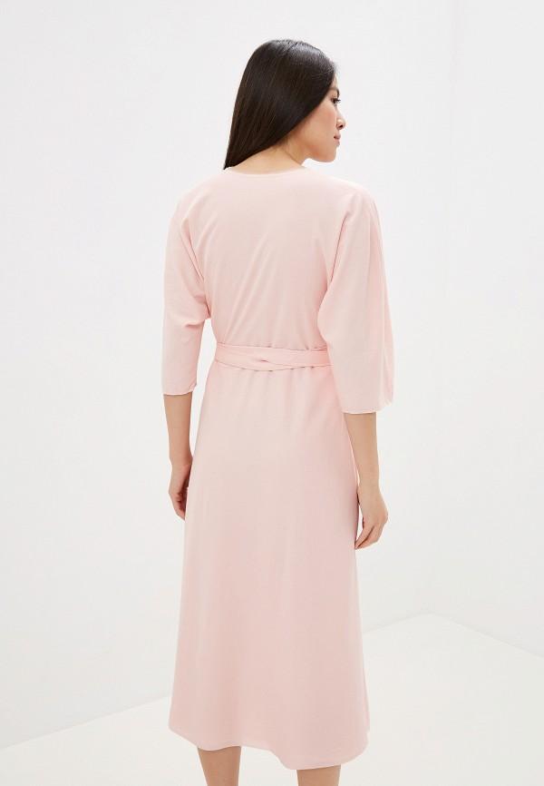 Фото 3 - Женское платье Ummami розового цвета