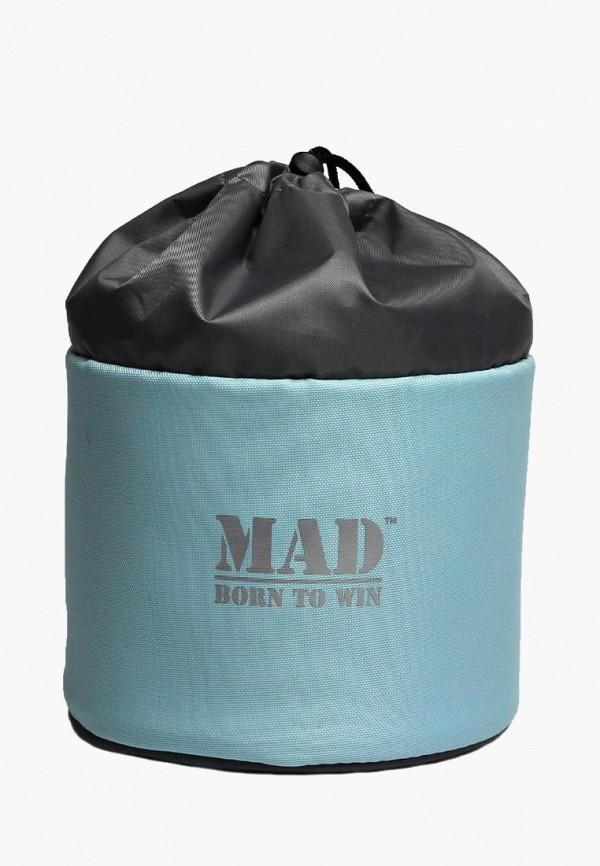 женская косметичка mad | born to win, голубая