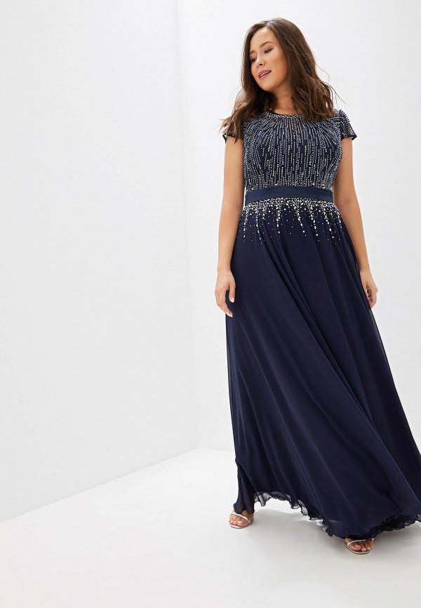 женское платье milomoor, синее