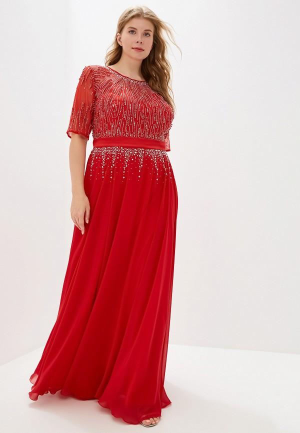 женское платье milomoor, красное