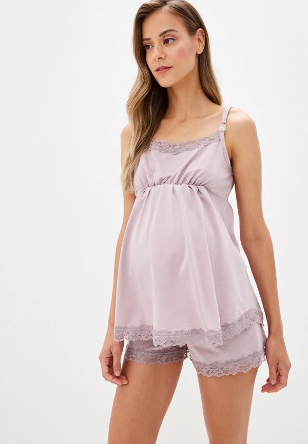 женские шорты fest, розовые