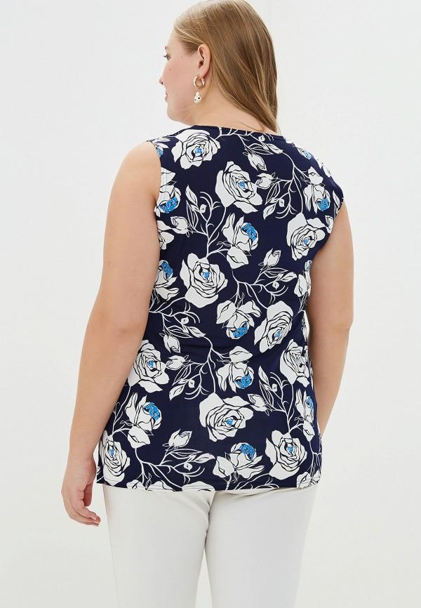 Фото 3 - Женскую блузку PreWoman синего цвета