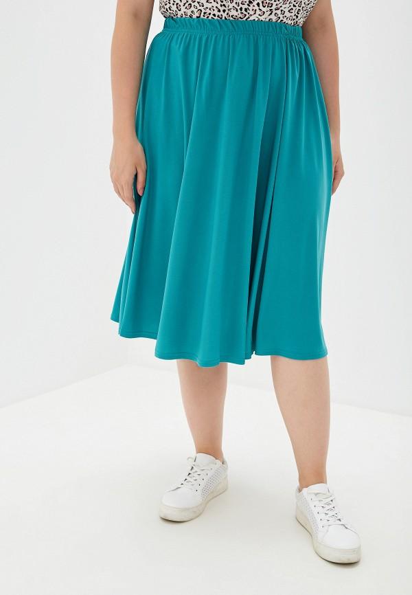 женская юбка prewoman, бирюзовая
