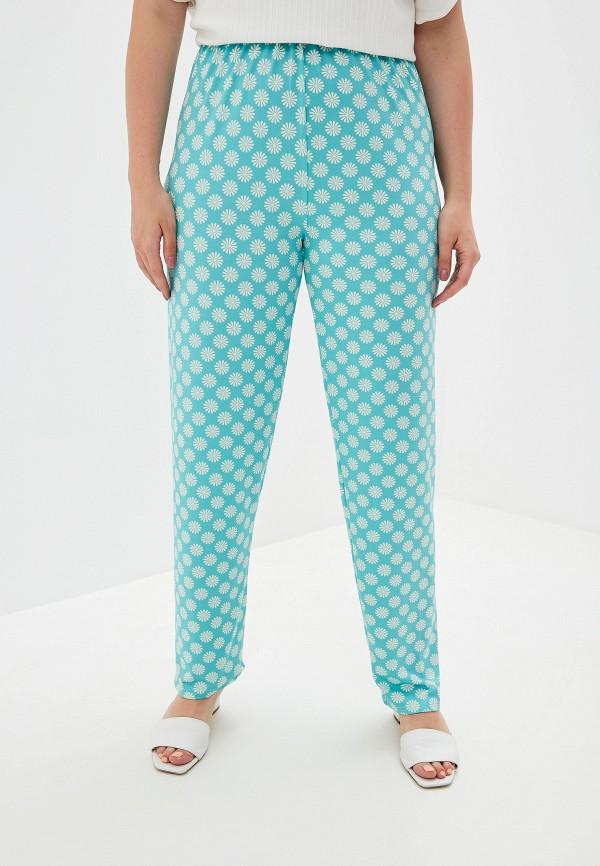 женские брюки prewoman, бирюзовые