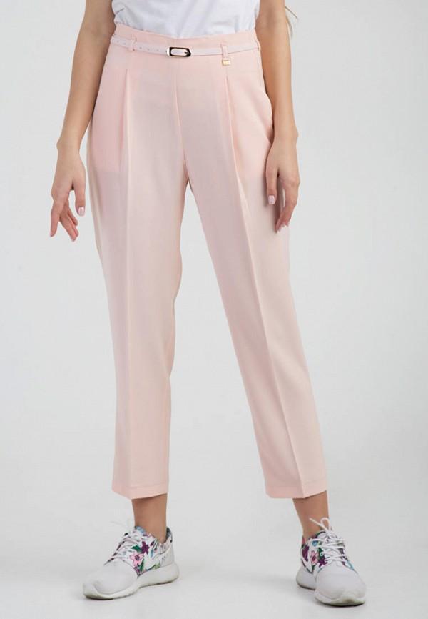 женские повседневные брюки das, розовые