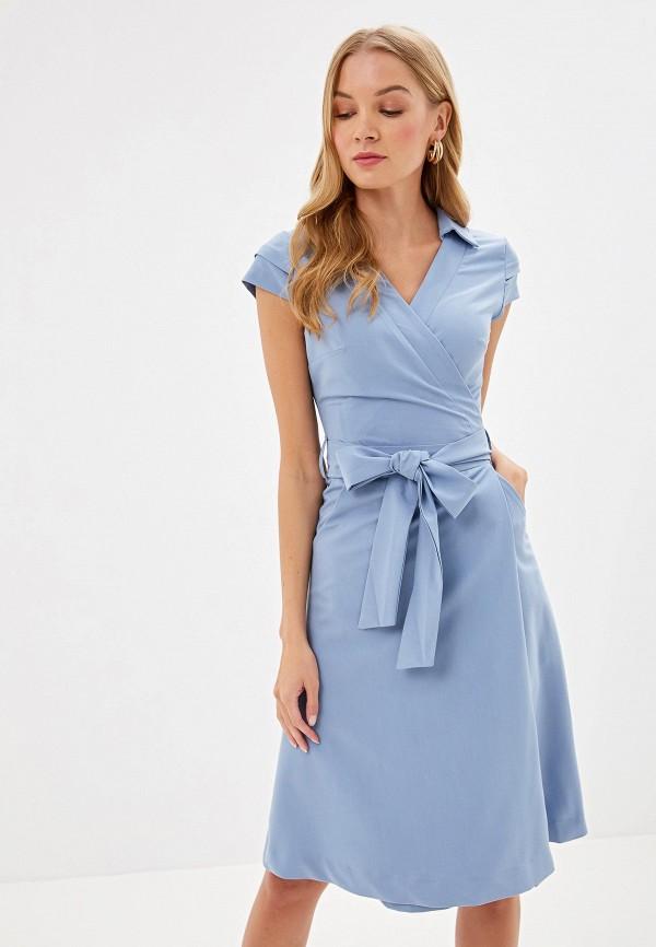 Фото - Женское платье Bezko голубого цвета