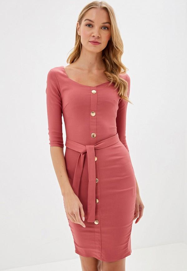 Фото - Платье Avemod розового цвета