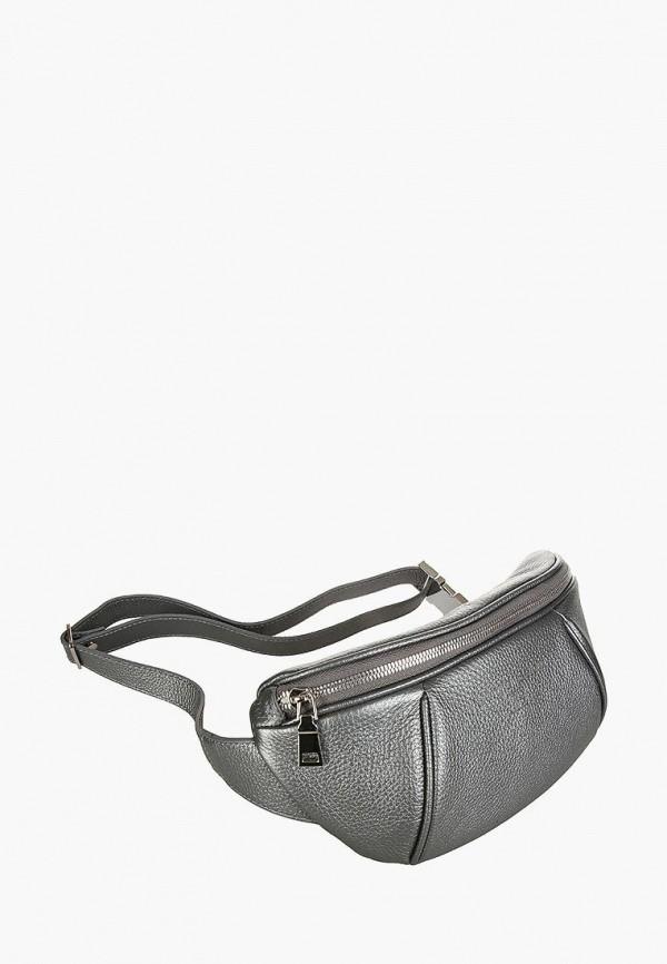 женская сумка sergio belotti, серебряная