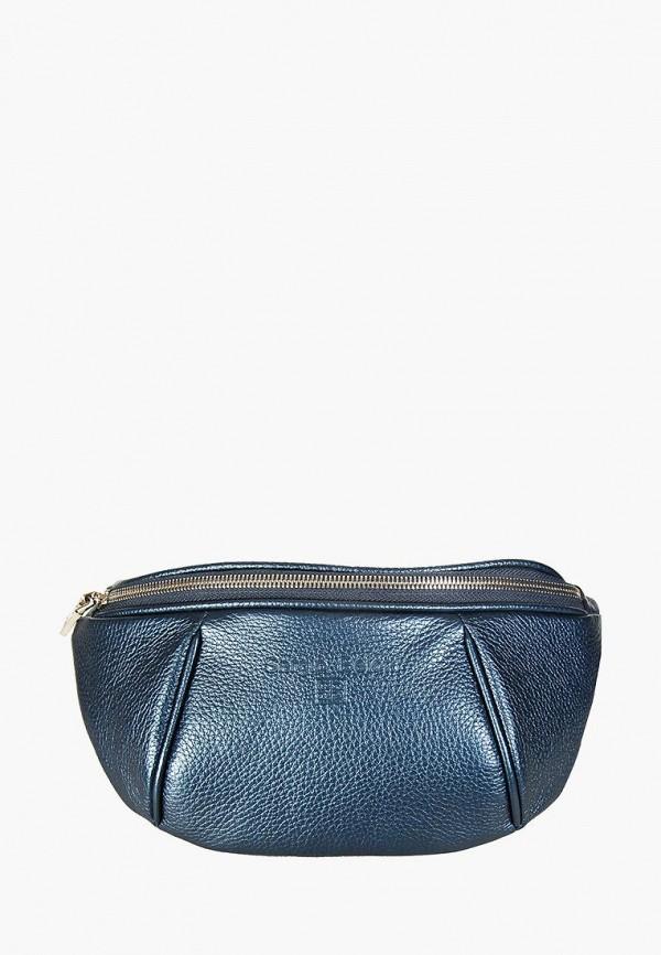 женская сумка sergio belotti, синяя