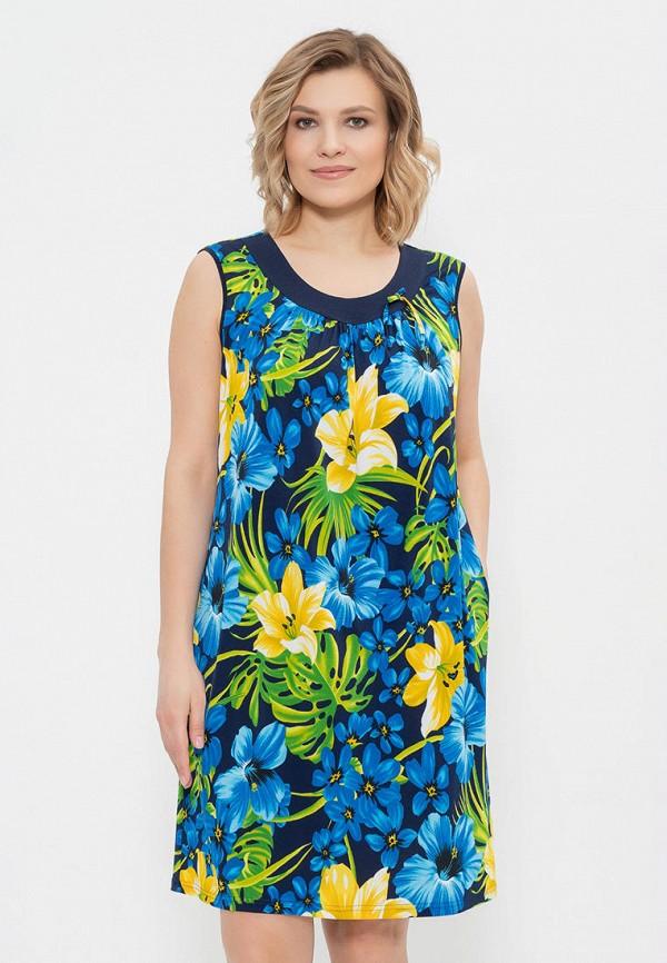 женское платье cleo, синее
