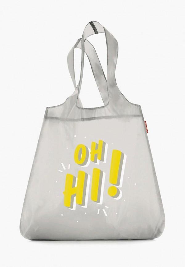 женская сумка-шоперы reisenthel, серая