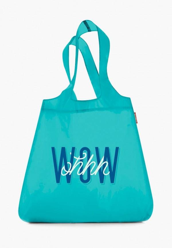 женская сумка-шоперы reisenthel, бирюзовая