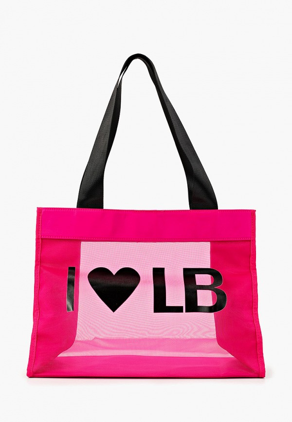 женская сумка-шоперы labbra, розовая