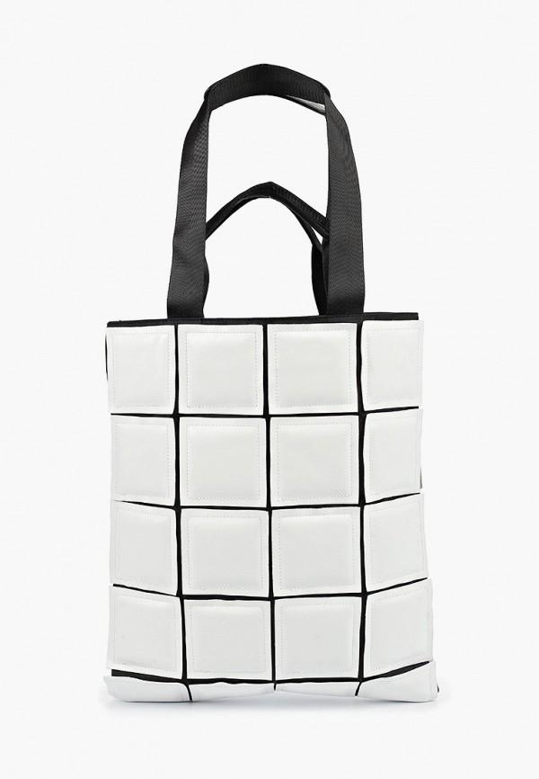 женская сумка-шоперы labbra, белая