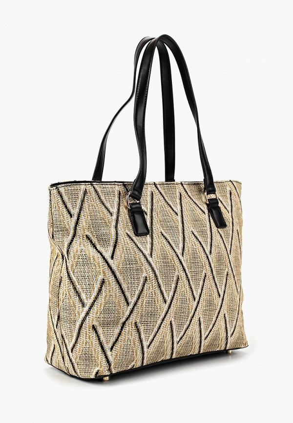 Фото 2 - Женские сумки и аксессуары Labbra бежевого цвета