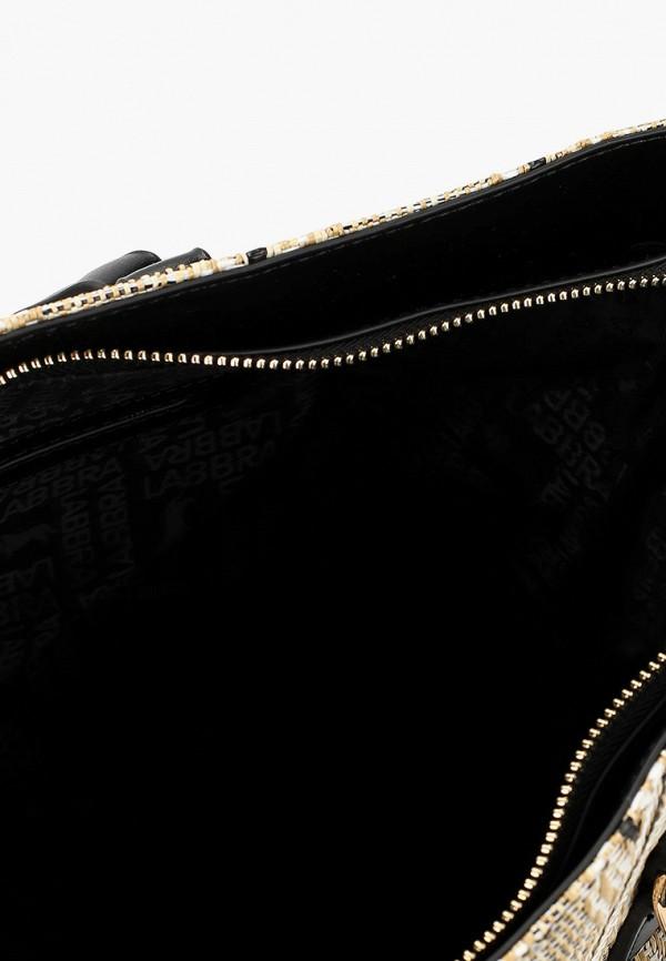Фото 3 - Женские сумки и аксессуары Labbra бежевого цвета