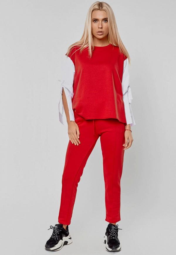 женский костюм elena pokalitsina, красный