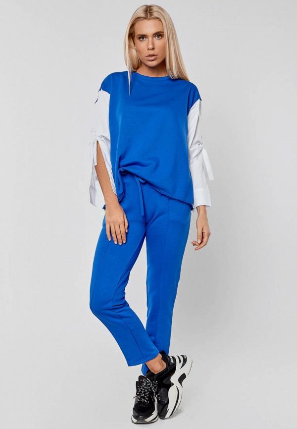женский костюм elena pokalitsina, синий