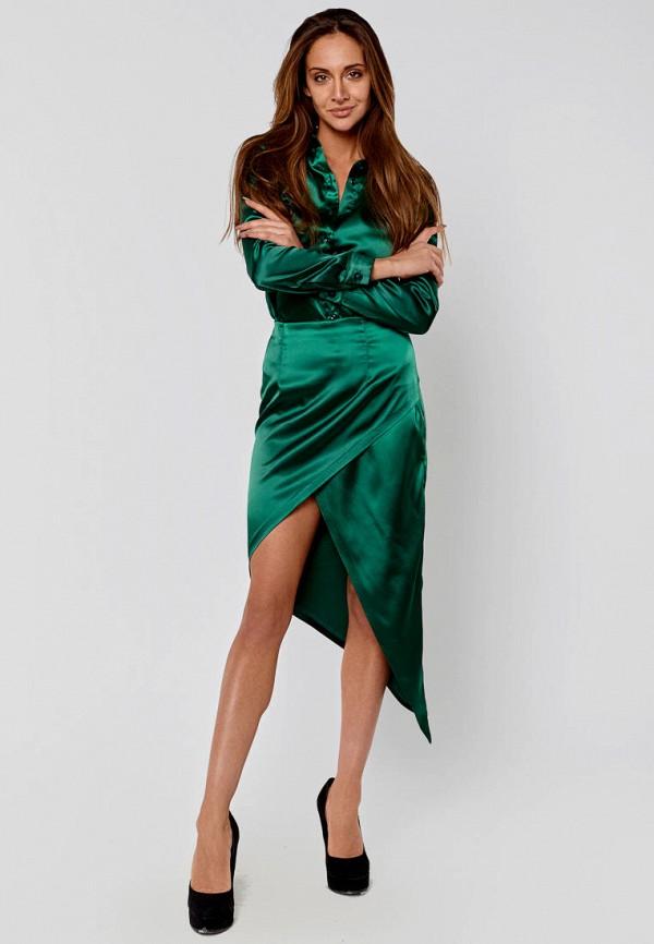 женский костюм elena pokalitsina, зеленый