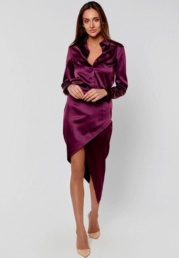женский костюм elena pokalitsina, фиолетовый