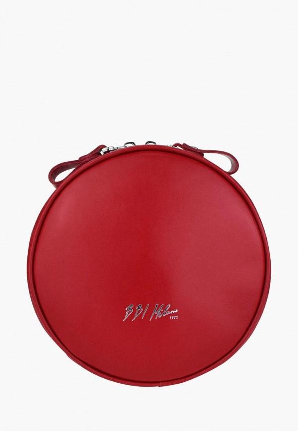 Купить Сумку поясная BB1 красного цвета