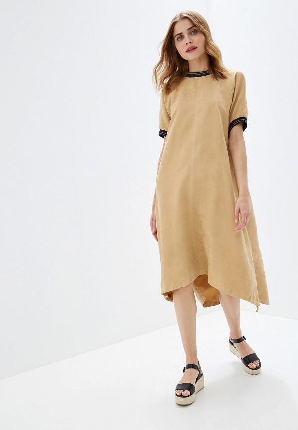 цена Платье Vilatte Vilatte MP002XW0R8D5 онлайн в 2017 году