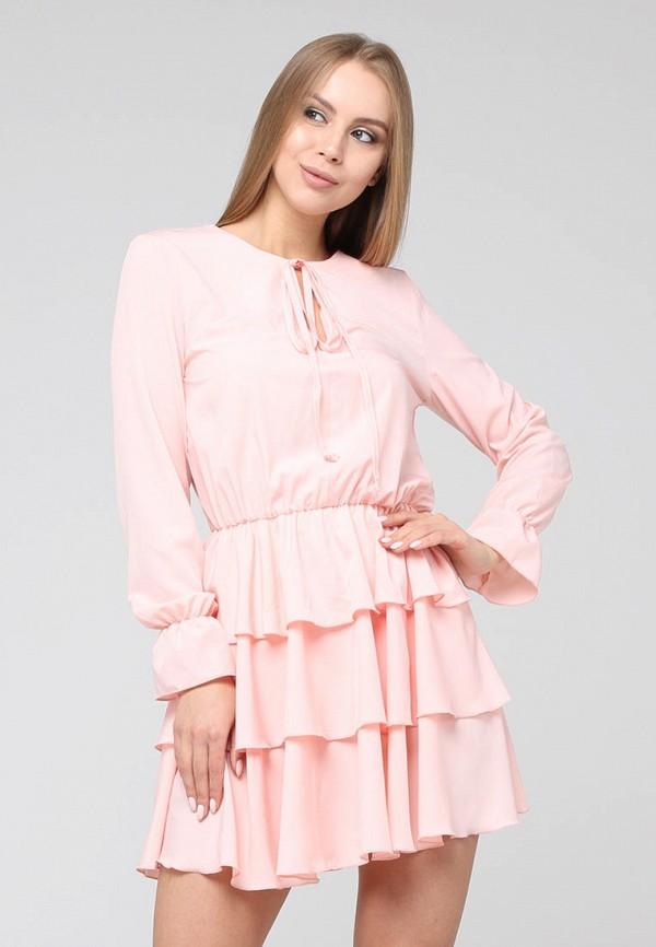 женское повседневные платье brunello de neri, розовое