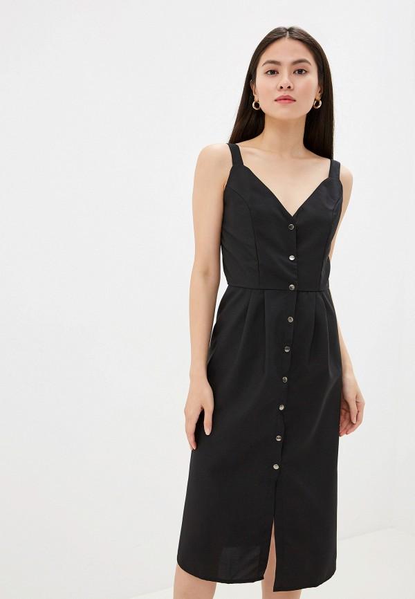 Фото - Платье GALOLBO черного цвета