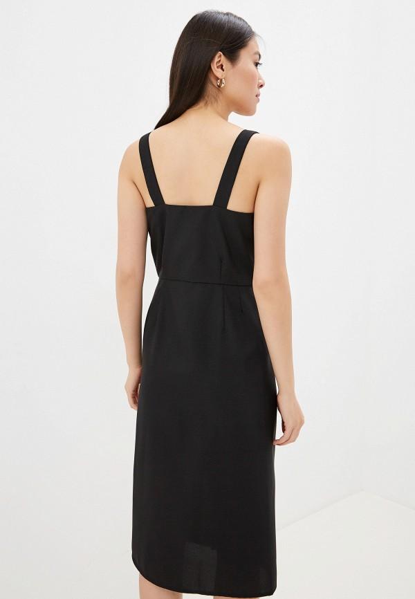 Фото 3 - Платье GALOLBO черного цвета