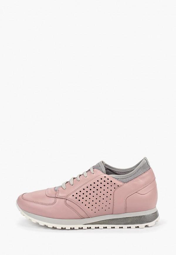 женские низкие кроссовки ralf ringer, розовые