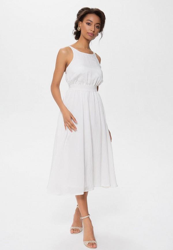 женское повседневные платье anushka by anna pavlova, белое