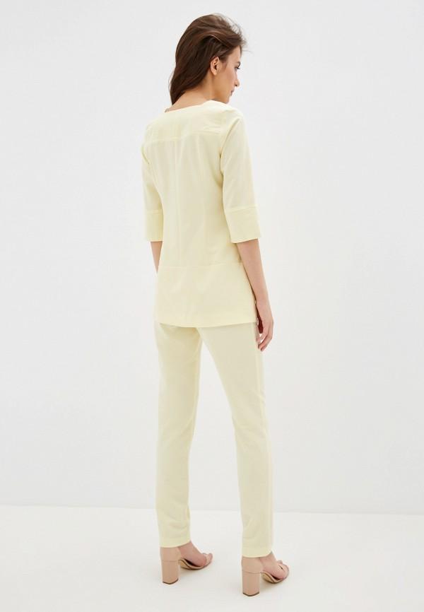 Фото 3 - Женский костюм Bezko желтого цвета
