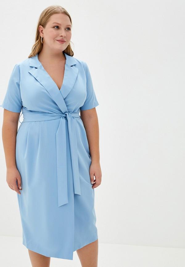 женское платье bordo, голубое