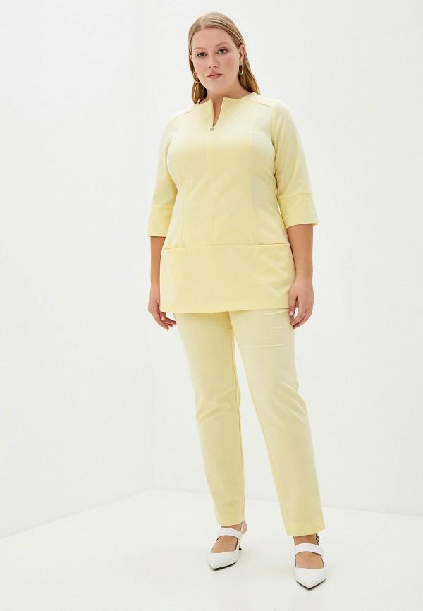 женский костюм bordo, желтый