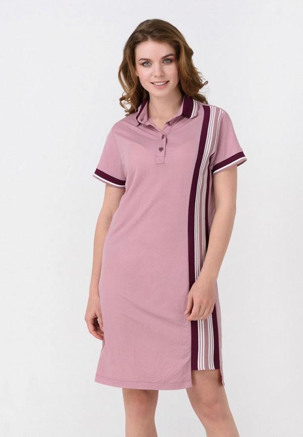 женское платье ricamare, розовое