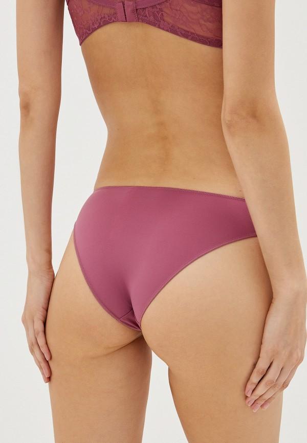 Фото 3 - Женские трусы Tezenis фиолетового цвета