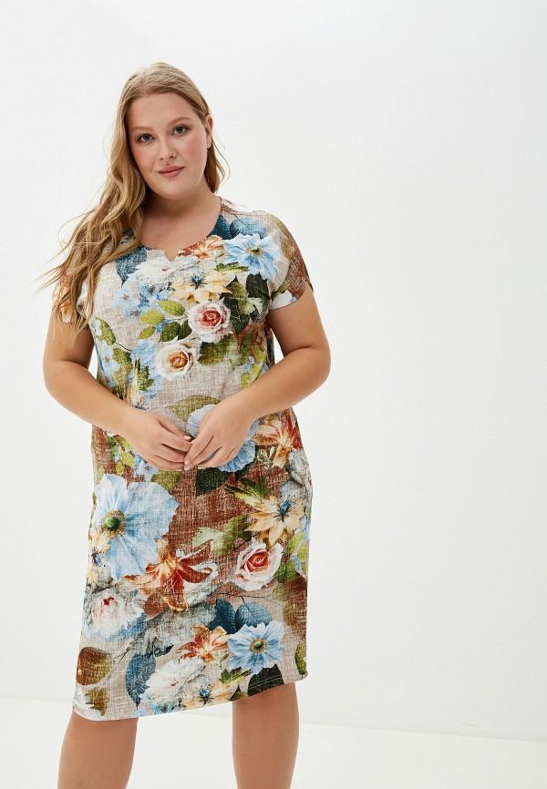 женское платье агапэ, разноцветное