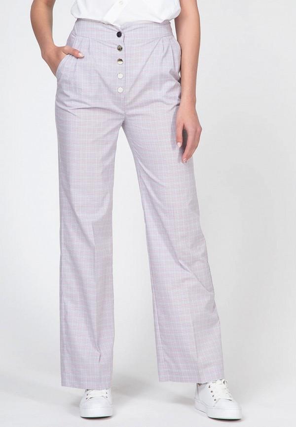 женские повседневные брюки ornato, серые