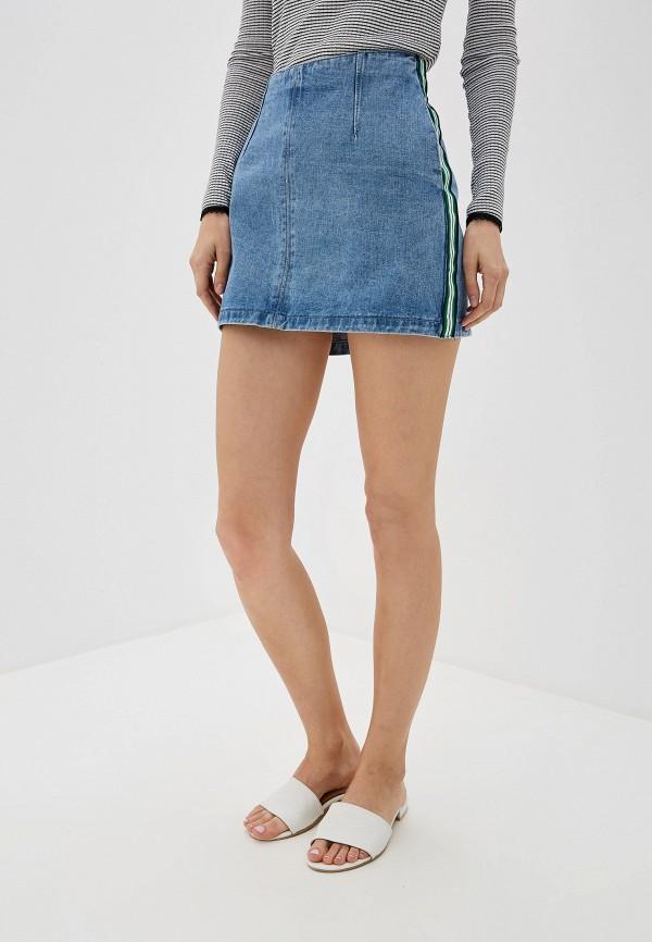 цена Юбка джинсовая Befree Befree MP002XW0R9HB