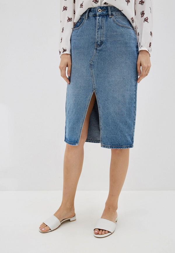 все цены на Юбка джинсовая Befree Befree MP002XW0R9IK онлайн