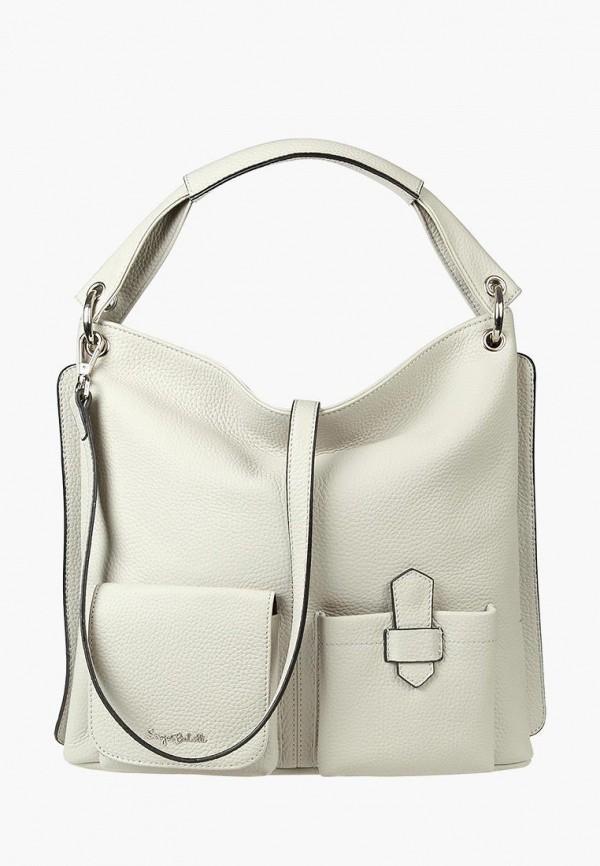 Фото - Женские сумки и аксессуары Sergio Belotti белого цвета