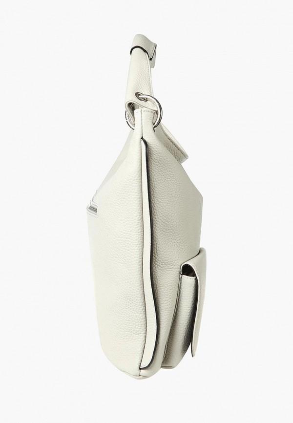 Фото 2 - Женские сумки и аксессуары Sergio Belotti белого цвета