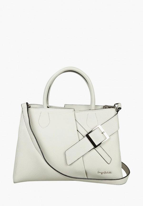 женская сумка sergio belotti, белая