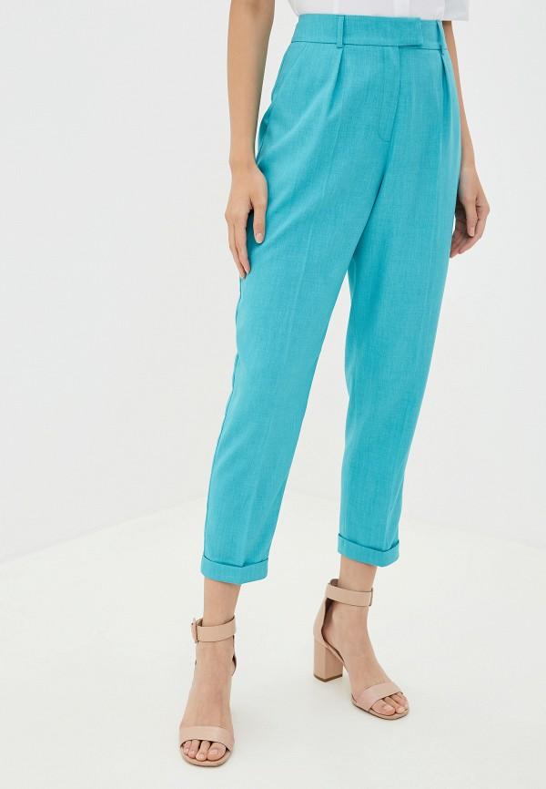 женские брюки buono, бирюзовые