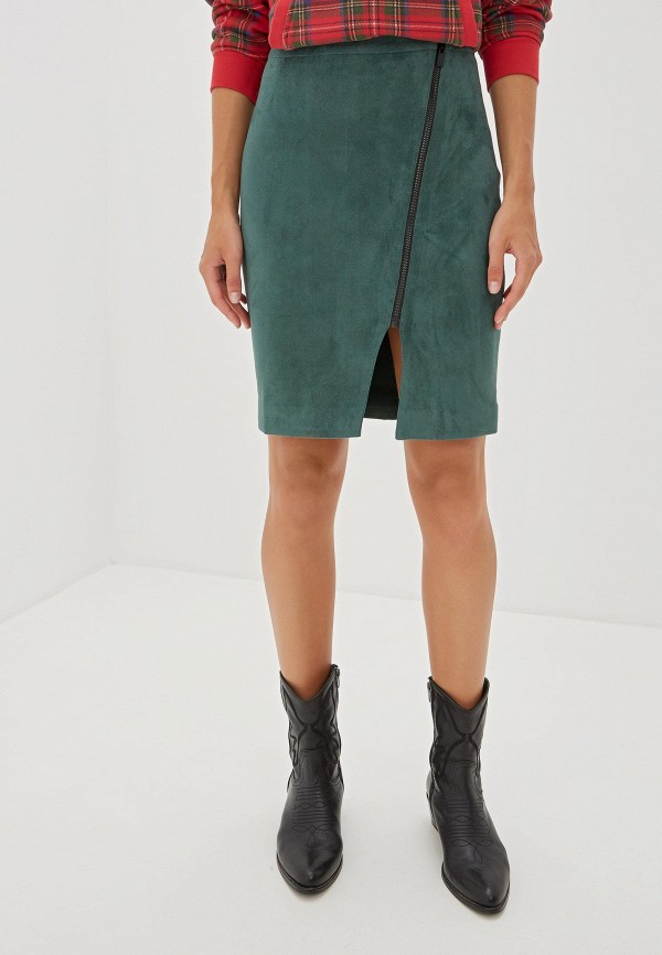 Фото - Женскую юбку Self Made зеленого цвета